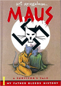 "Cover of Art Spiegelman's ""Maus"""