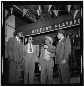 Thelonious Monk, Howard McGhee, Roy Eldridge, and Teddy Hill, Minton's Playhouse, ca. Sept. 1947